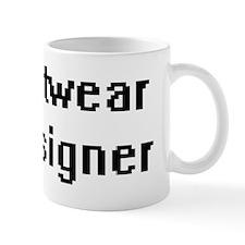 Knitwear Designer Retro Digital Job Des Mug