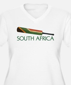 South Africa Cricket Plus Size T-Shirt