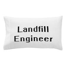 Landfill Engineer Retro Digital Job De Pillow Case