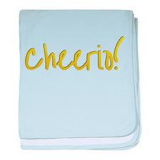 Cheerio baby blanket