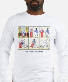 The School of Athens Long Sleeve T-Shirt