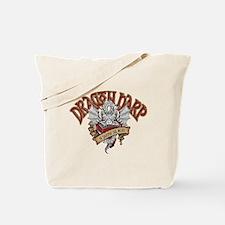 Dragon Harp Tote Bag