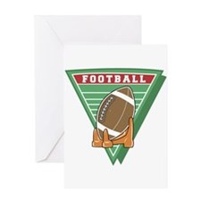 FOOTBALL_6 Greeting Card