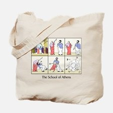 The School of Athens Tote Bag