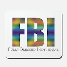Tiedye FBI Mousepad