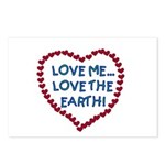 Love Me, Love the Earth Postcards (Package of 8)