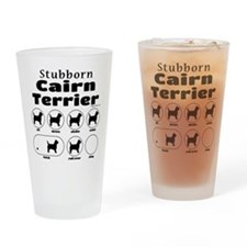 Stubborn Cairn 2 Drinking Glass