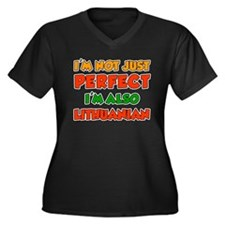 Not Just Perfect Lithuanian Plus Size T-Shirt
