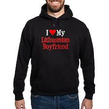 I Love My Lithuanian Boyfriend Hoodie