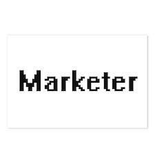 Marketer Retro Digital Jo Postcards (Package of 8)