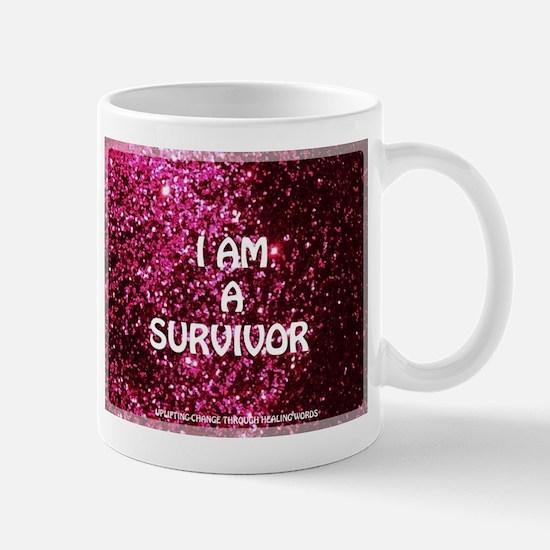 I AM A SURVIVOR Mugs
