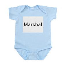 Marshal Retro Digital Job Design Body Suit