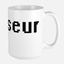 Masseur Retro Digital Job Design Mugs