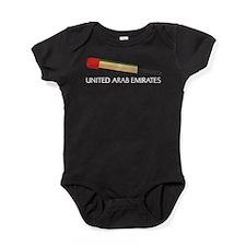 United Arab Emirates Cricket Baby Bodysuit