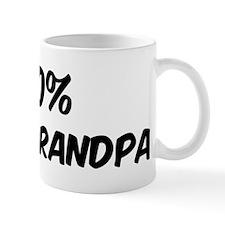 100 Percent Great Grandpa Mug