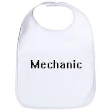 Mechanic Retro Digital Job Design Bib