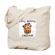 Happy Birthday Christopher (t Tote Bag