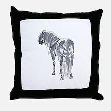 PERCHERON DRAFT HORSE Throw Pillow