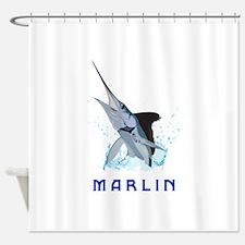 MARLIN Shower Curtain