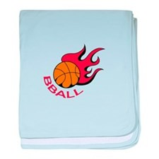 BBALL baby blanket
