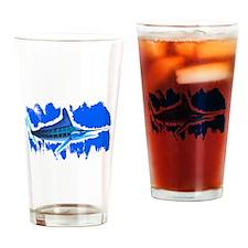 MARLIN IN OCEAN Drinking Glass
