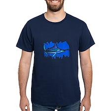 MARLIN IN OCEAN T-Shirt