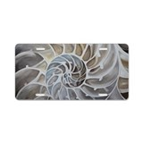 Nautilus shell License Plates