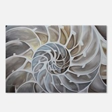 Nautilus Shell Postcards (Package of 8)