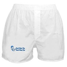 Don't Want Children Boxer Shorts