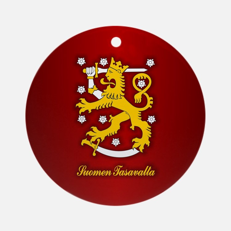 Finnish Arms Ornament (Round)