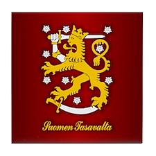 Finnish Arms Tile Coaster