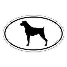 Boxer Dog Decal