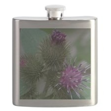 Flowering Tagalongs2 Flask