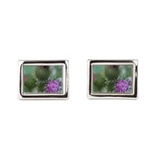 Flowering Tagalongs2 Rectangular Cufflinks