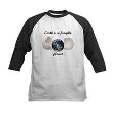 Earth is a fragile planet Baseball Jersey