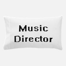 Music Director Retro Digital Job Desig Pillow Case