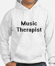 Music Therapist Retro Digital Jo Hoodie