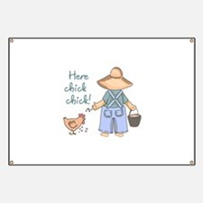 Here Chick Chick! Banner