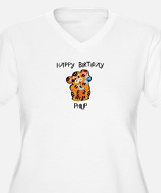 Happy Birthday Philip (tiger) T-Shirt