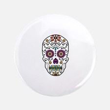 "SKULL FILLED 3.5"" Button"