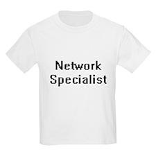 Network Specialist Retro Digital Job Desig T-Shirt