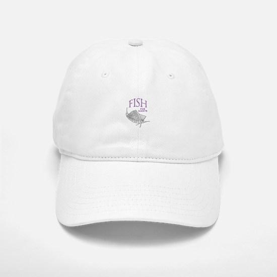 Fish For Giants Baseball Baseball Baseball Cap