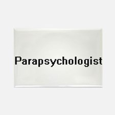 Parapsychologist Retro Digital Job Design Magnets