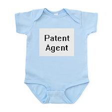Patent Agent Retro Digital Job Design Body Suit
