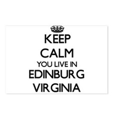 Keep calm you live in Edi Postcards (Package of 8)