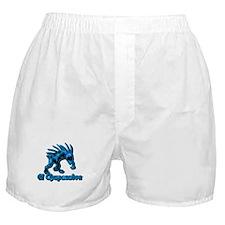 Chupacabra Blue Spots Boxer Shorts