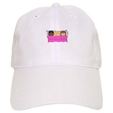 GIRLS SLEEPOVER Baseball Baseball Cap