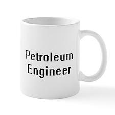 Petroleum Engineer Retro Digital Job Design Mugs