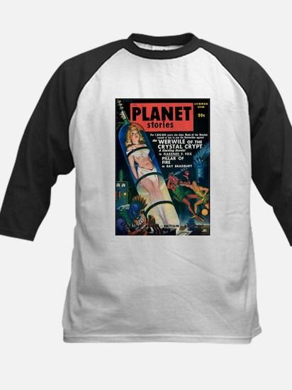 PLANET STORIES-VINTAGE PULP MAGAZINE COVER Basebal