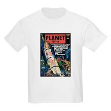PLANET STORIES-VINTAGE PULP MAGAZINE COVER T-Shirt